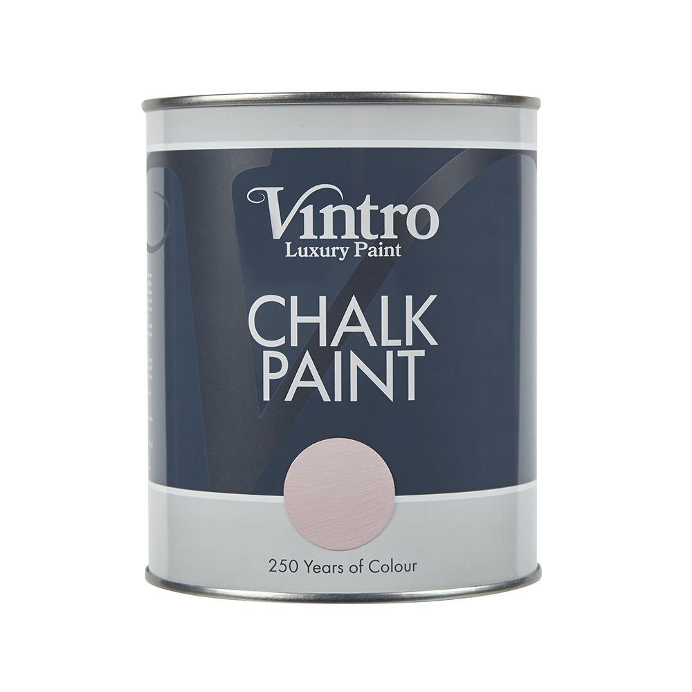 chalk paint tin vintro