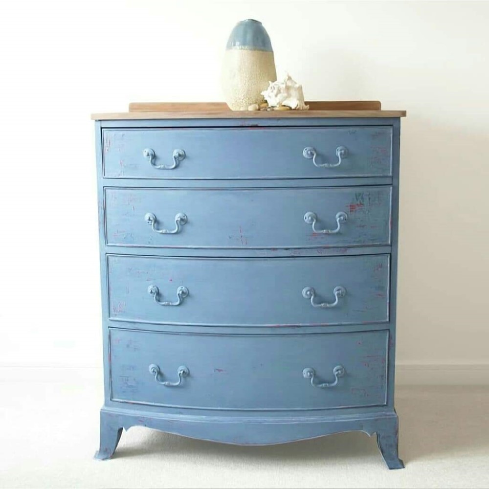 Drawers blue Chalk Paint Morocco vintro