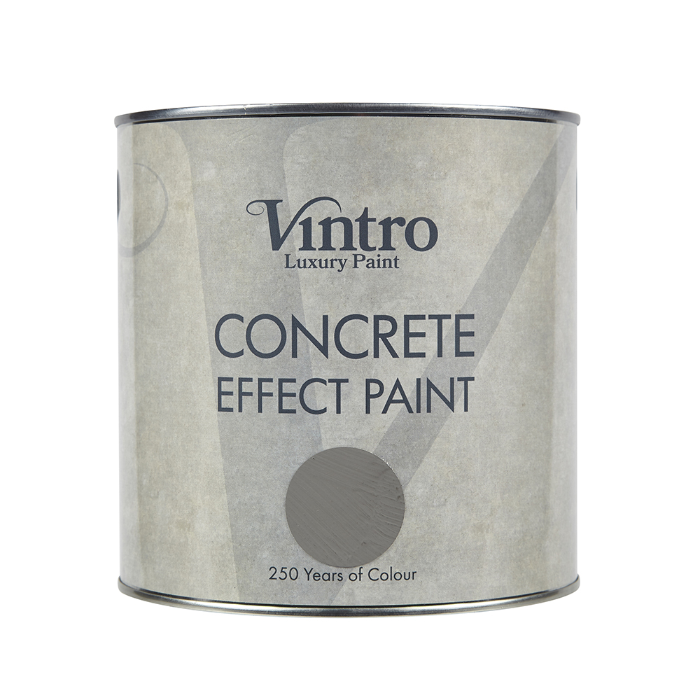 Concrete Effect Paint tin Vintro