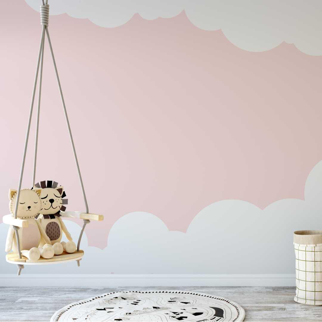 matt emulsion paint on nursery wall child safe vintro